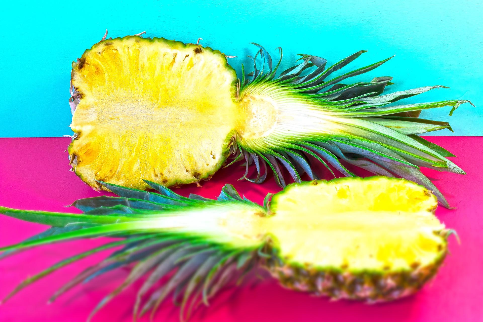 frullato con ananas