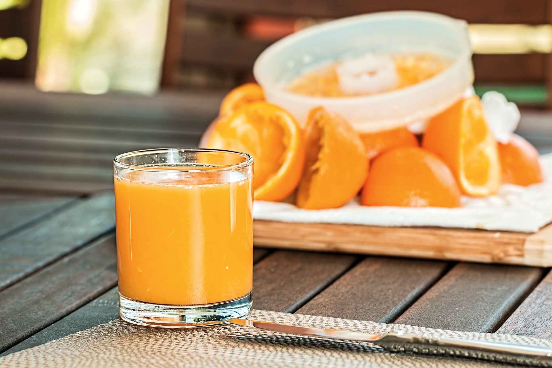 Frullato di arancia