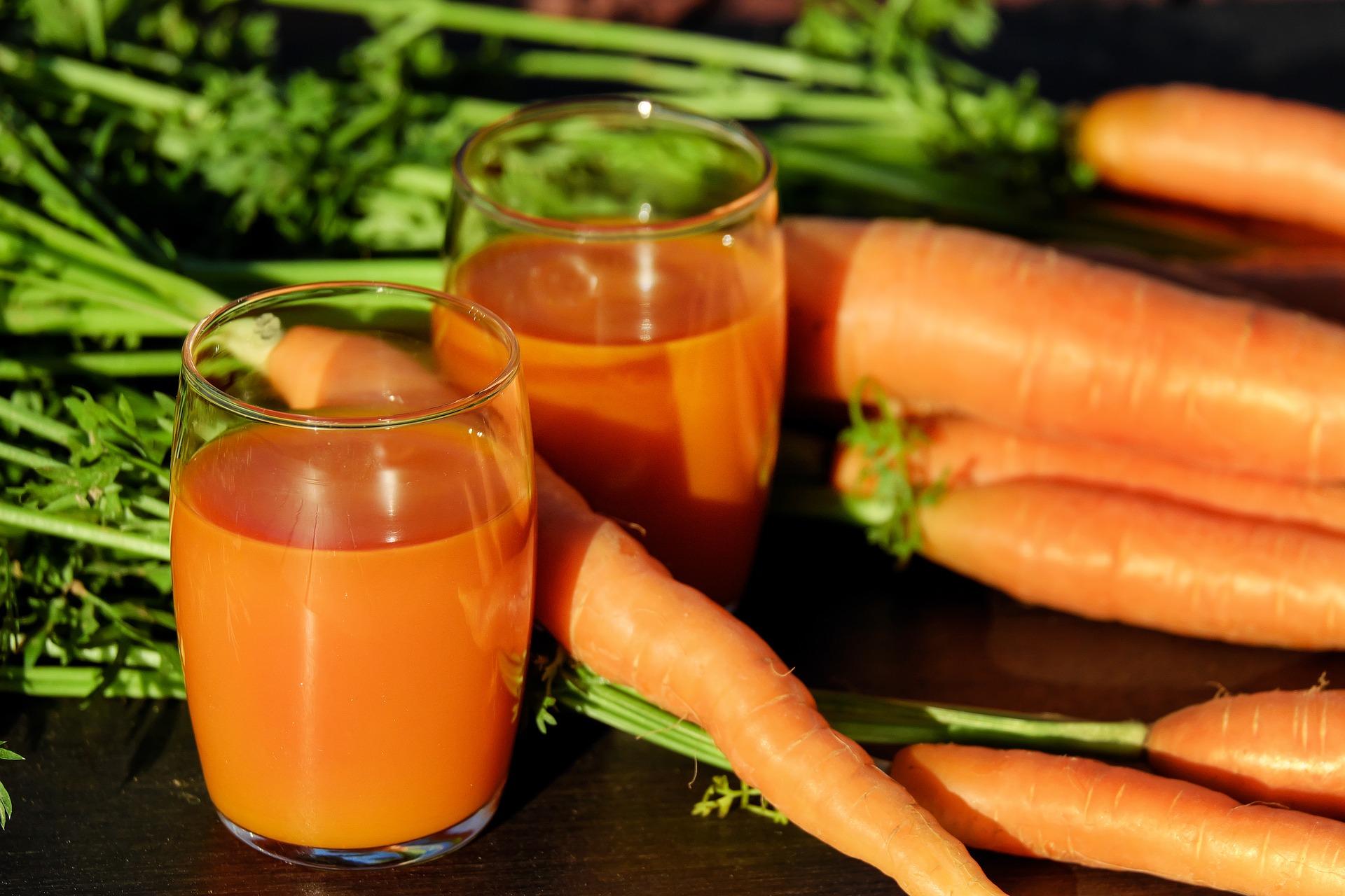 Frullato con carota