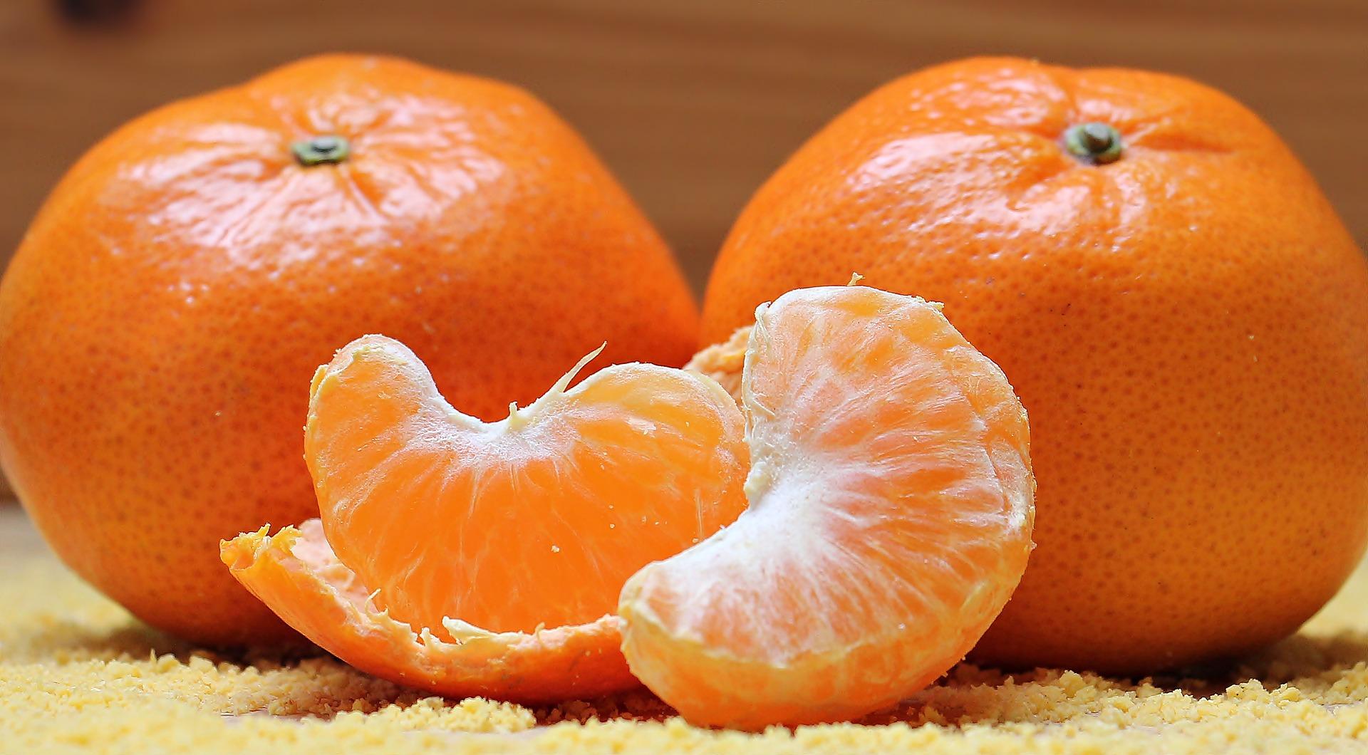 Frullato di mandarini