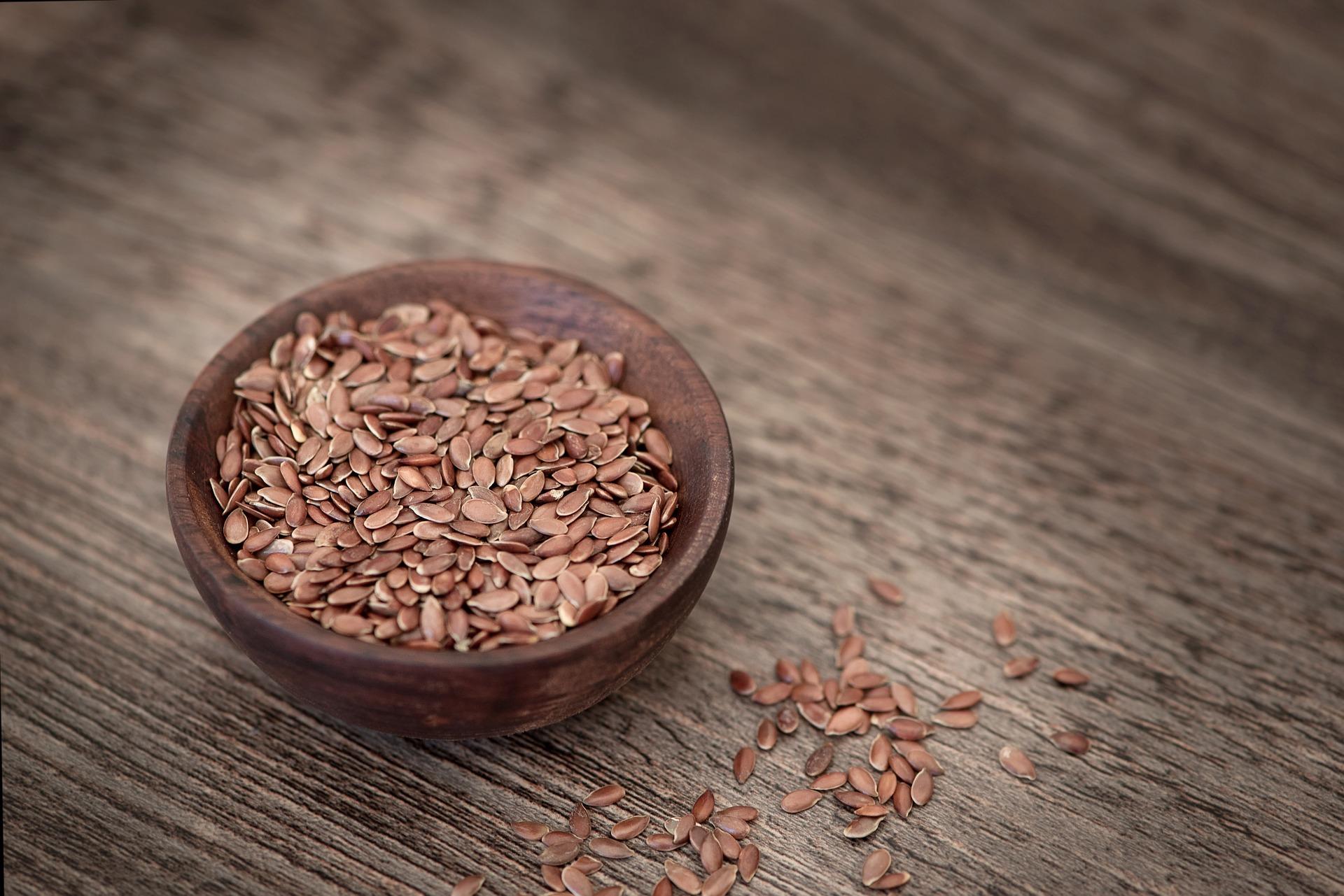 frullato con semi di lino